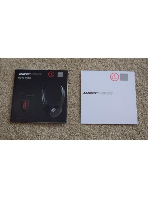Deteknix WR Wire-Free Headphone Adapters
