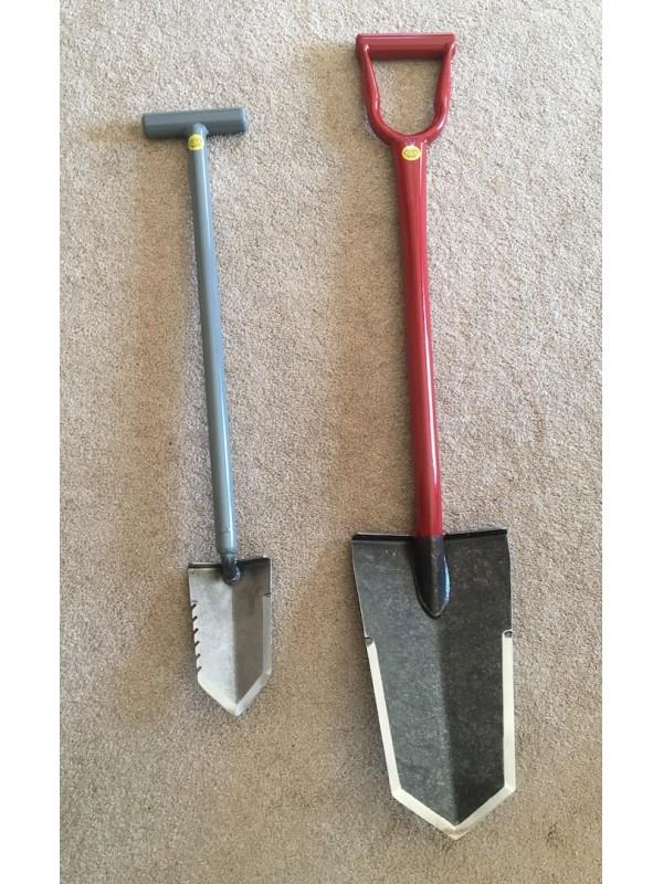Lesche Super Sampson shovel