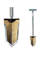 Lesche Sampson digging shovel