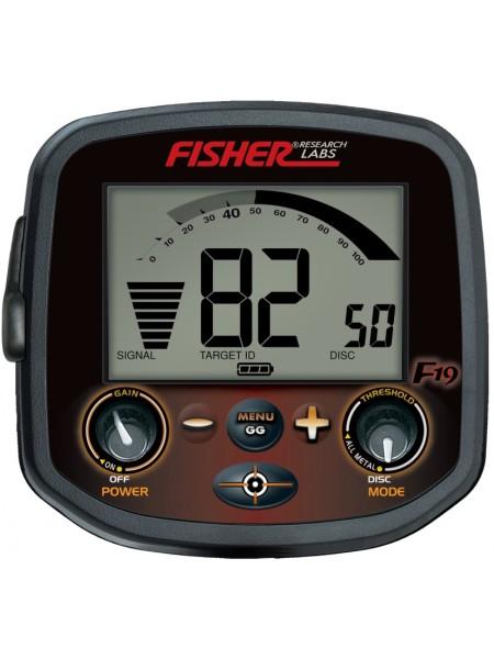 Fisher F19 metal detector