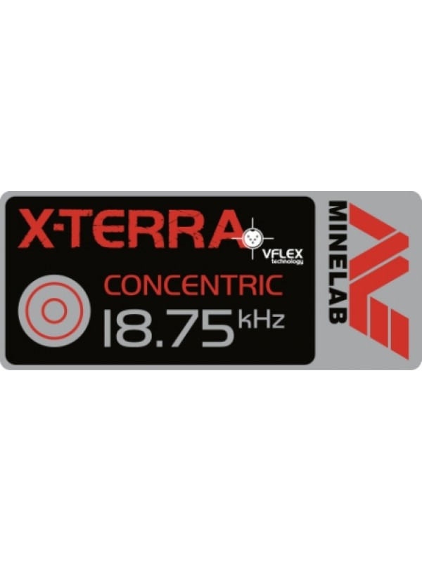 "Minelab X-Terra 9"" Concentric 18.75 kHz coil"
