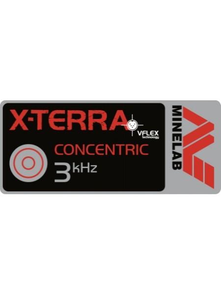 "Minelab X-Terra 9"" Concentric 3 kHz coil"