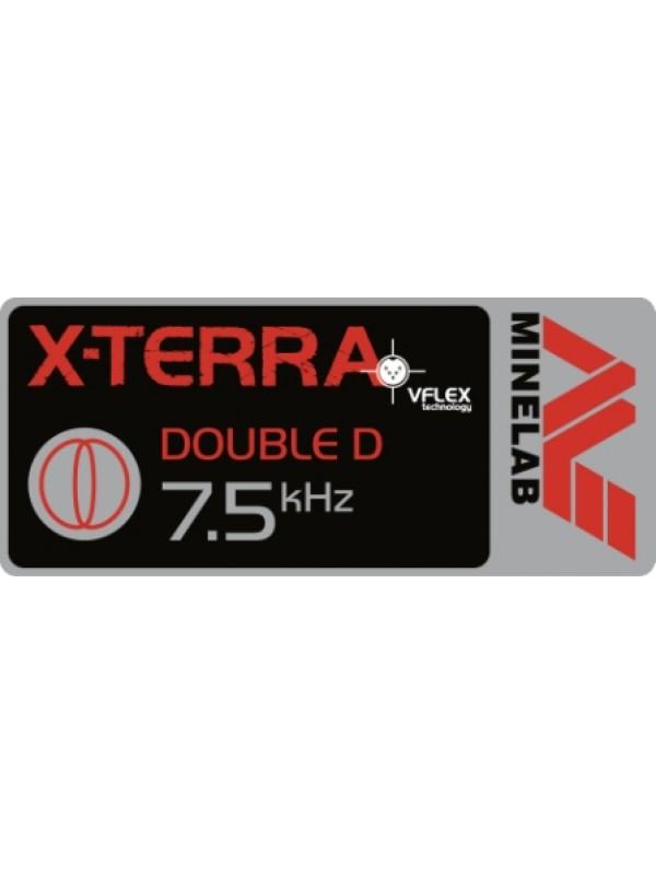 "Minelab X-Terra 10.5"" DD 7.5 kHz coil"