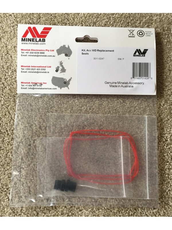 Minelab CTX 3030 Battery Compartment O-Ring Seal