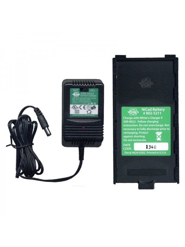 White's NiCad Battery and Charger Kit