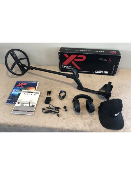 "XP Deus WS5 with Remote and 11"" Coil - USED"