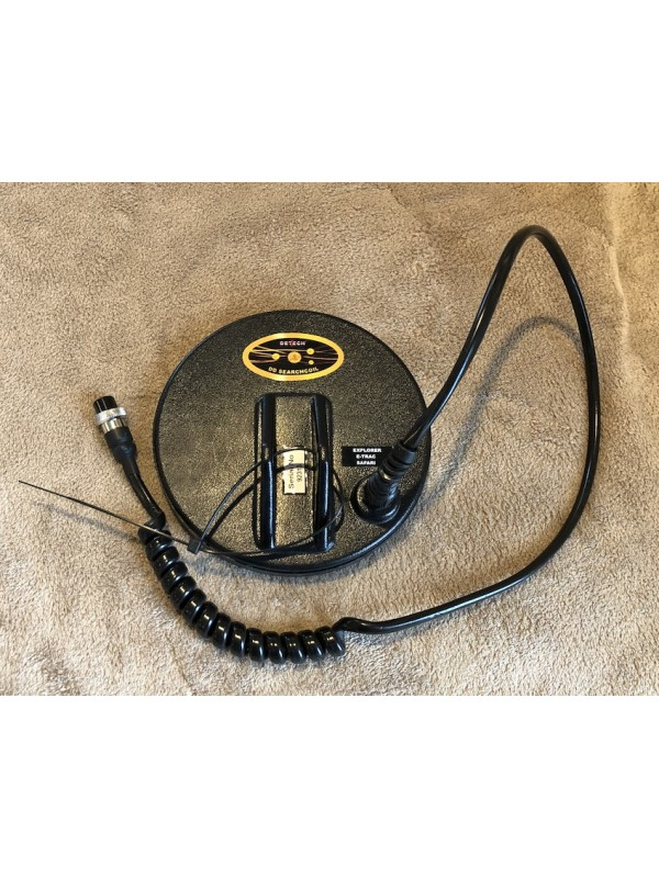 """Detech 6"""" DD coil for Minelab FBS - USED"""